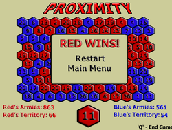 Proximity_strategy_game