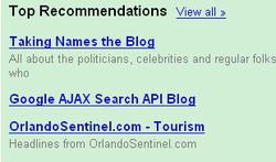 Googlerecommendationsdecember132007